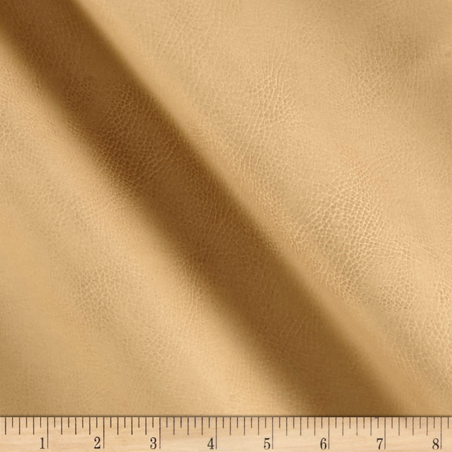 Richloom Tough Faux Leather Tiona Sandstone Fabric by TNT in USA