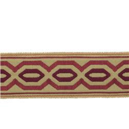 "Fabricut 2.25"" Papaya Trim Wine"
