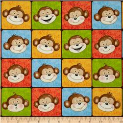 Monkey Mischief Monkey Faces Multi