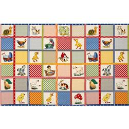 Moda Ducks in a Row Playtime Patchwork Panel Multi