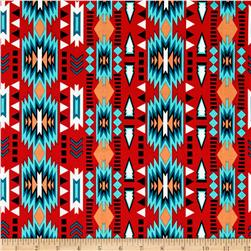 Native Spirit Stripe Red