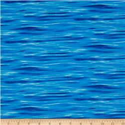 Landscape Medley Water Deep Blue