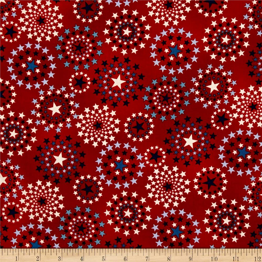 Oh My Stars American Classic Star Medallion Red