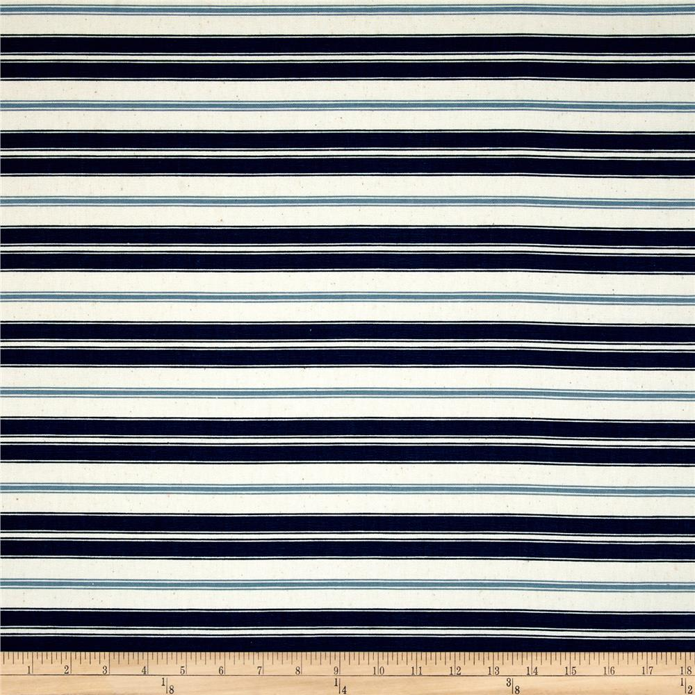 Magnolia Home Hampton Stripe Navy