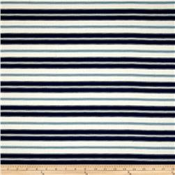 Magnolia Home Fashions Hampton Stripe Navy