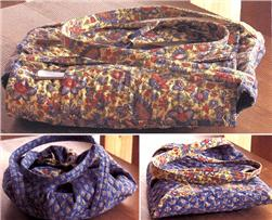 Rotary Cut Border Bag: 3 Casserole Carrier Patterns