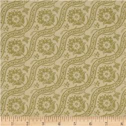 Haven Jacquard-Look Olive