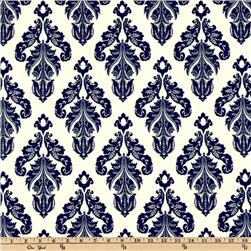 Premier Prints Indoor/Outdoor Avery Deep Blue Fabric