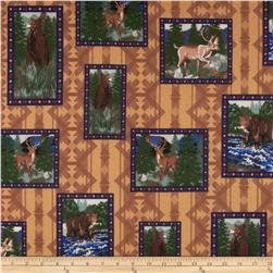 Big Country Flannel Animal Patch Fabric