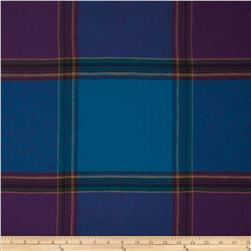 Yarn Dyed Flannel Plaid Blue/Purple/Tan