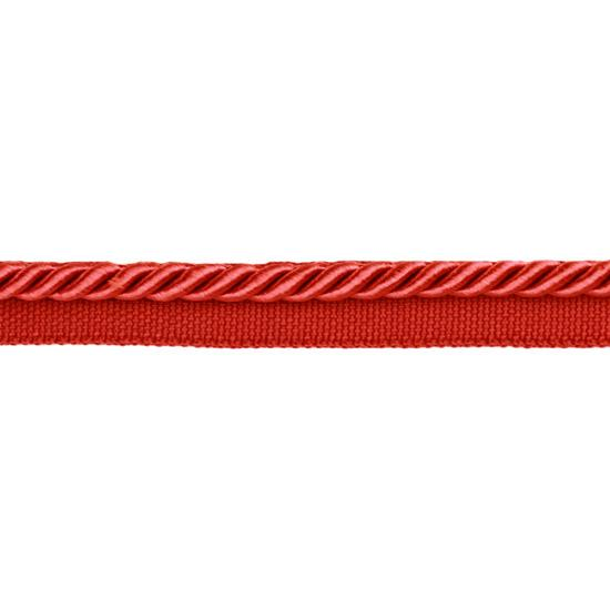 Expo 1/4'' Twisted Cord w/Lip Red