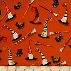 Cheeky Pumpkins Witch Accessories Orange