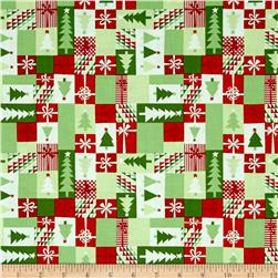 Moda Jingle Patchwork Crimson