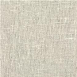 European 100% Washed Linen Eggshell