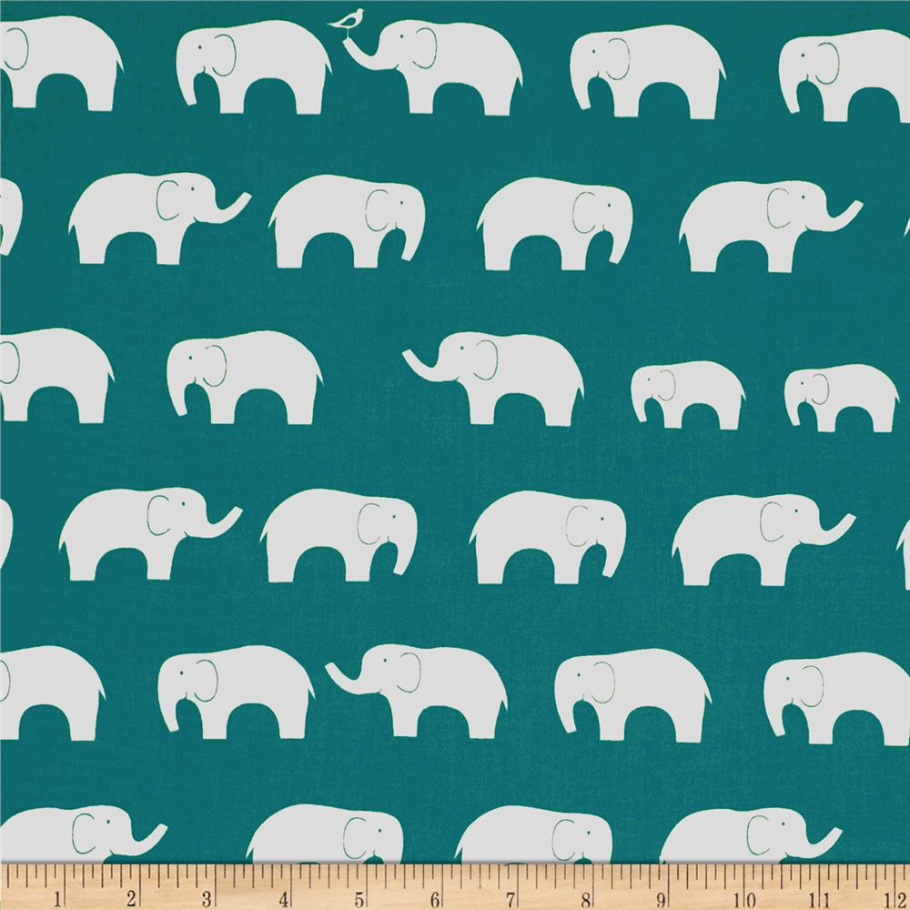 Birch Organic Mod Basics Ellie Fam Teal
