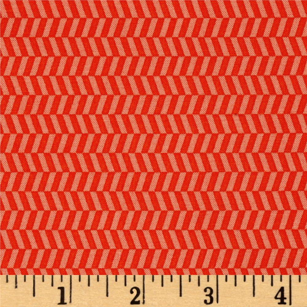 Uppercase Tweed Orange