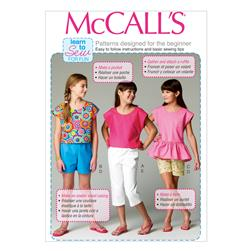 McCall's Children's/Girls' Dresses/Jumpers Pattern M6982 Size CDD