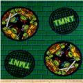 Teenage Mutant Ninja Turtles Fleece Badge Green