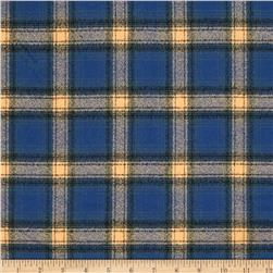 Kaufman Mammoth Flannel Plaid Pacific