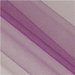 54'' Wide Nylon Tulle Eggplant Fabric