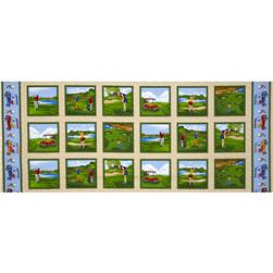 Swing Time Golf Panel Cream