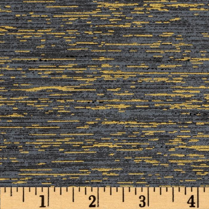 Quilter's Tussah Metallic Grey