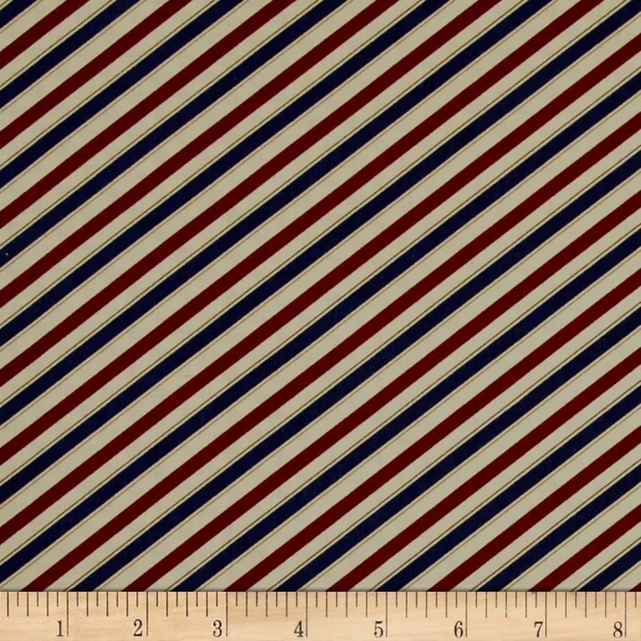 Barber shop barper stripes red blue discount designer for Apparel fabric