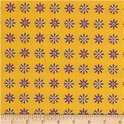 Field Day Small Floral Yellow