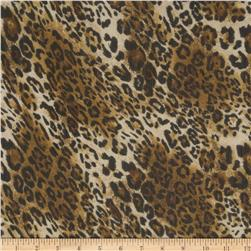 Yoryu Chiffon Cheetah Brown/Gold