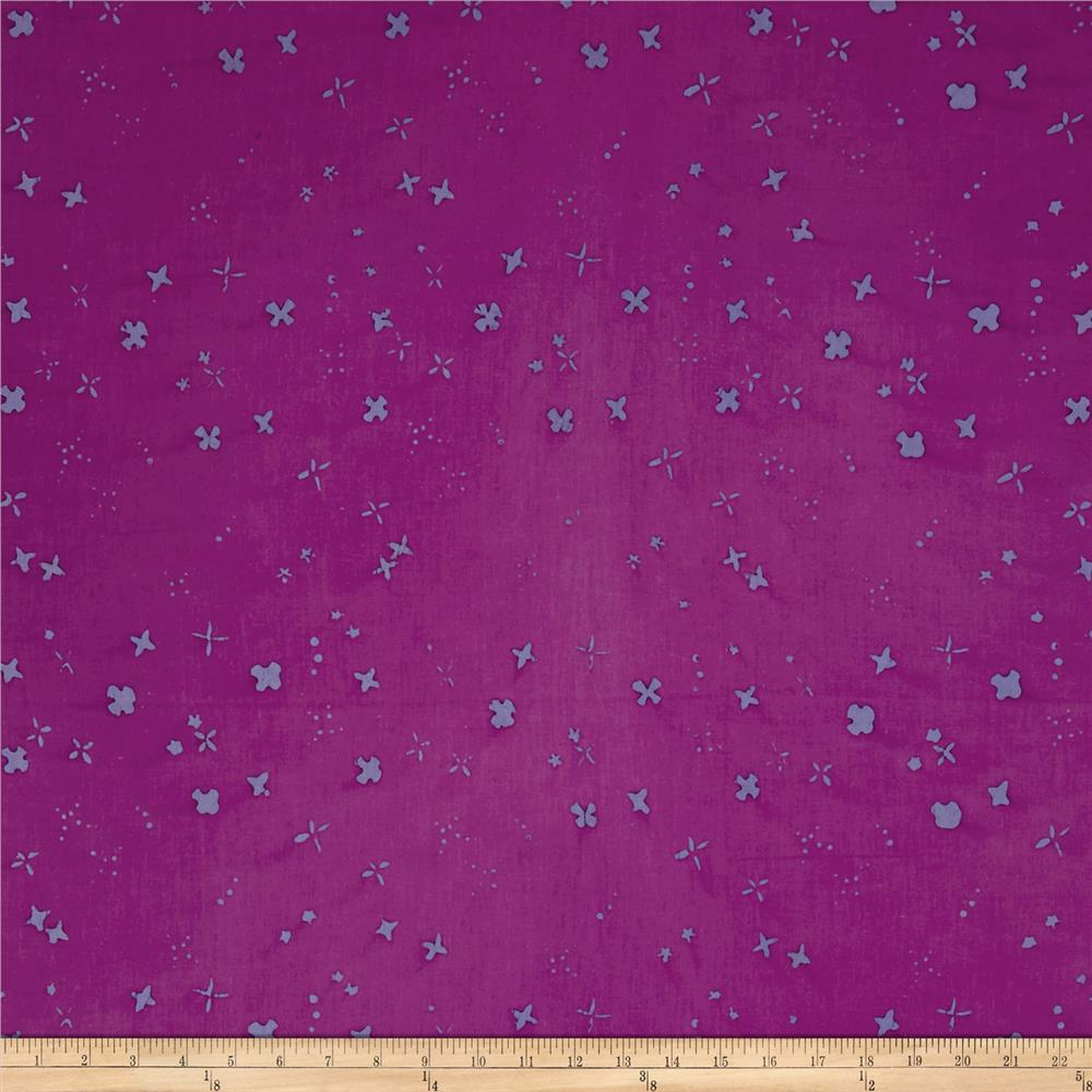Alison Glass Handcrafted Batiks Chroma Scatter Thistle