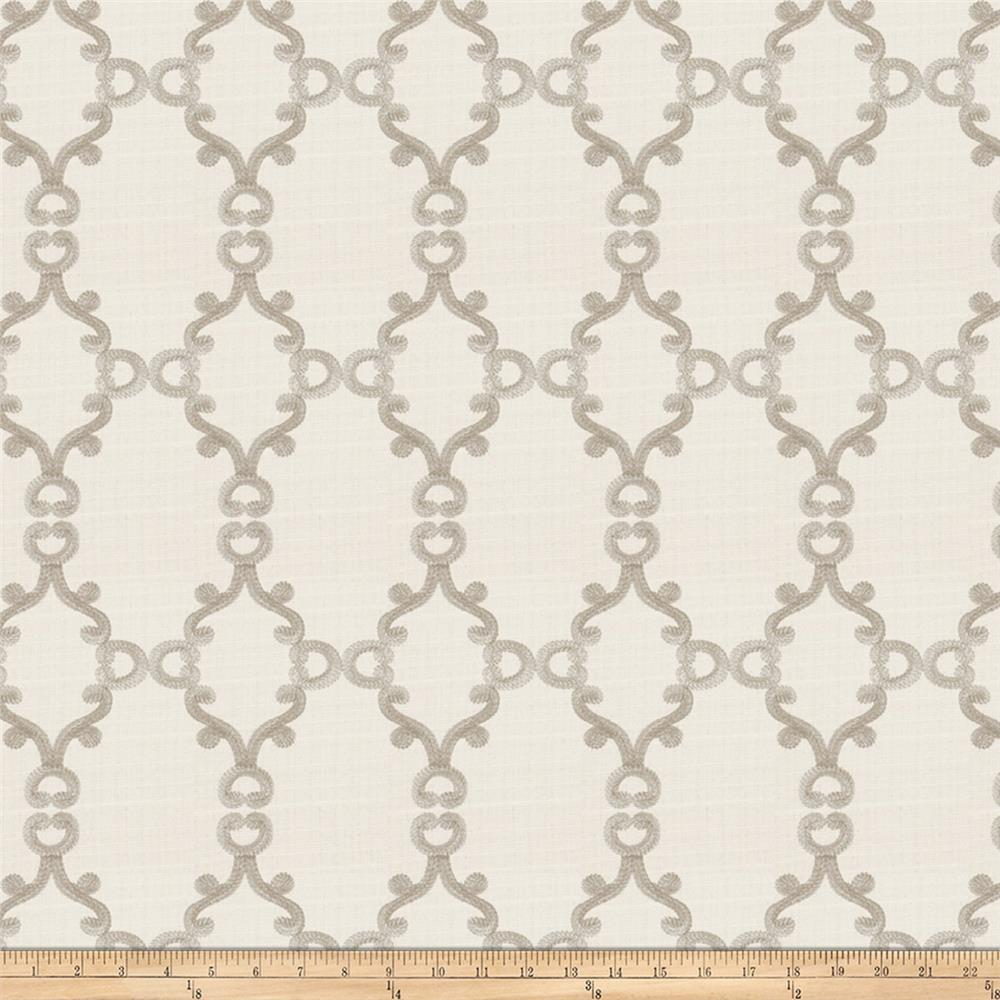 Trend 02946 Embroidered Ivory
