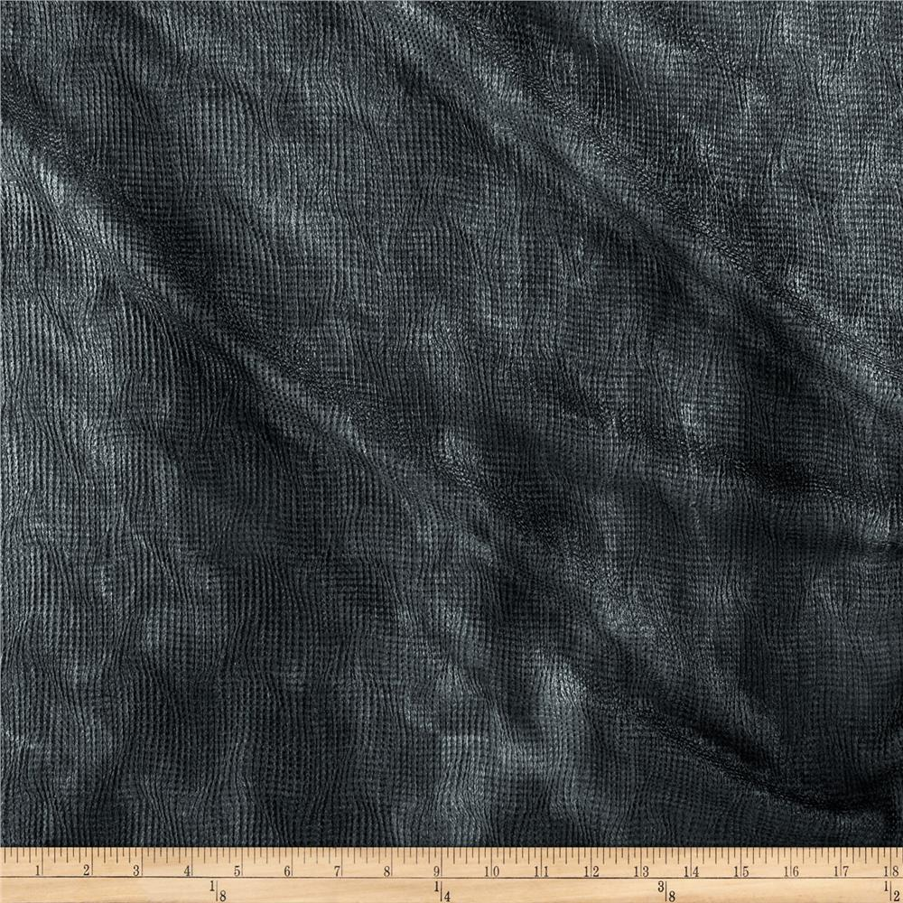 Bombay Crush Knit Fabric Black/Grey