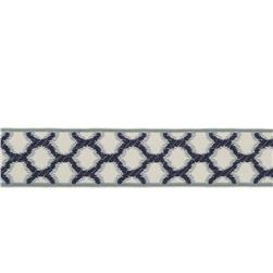 "Fabricut 1.5"" Decor Trim Indigo"