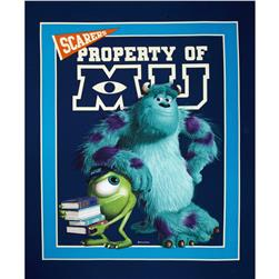 Disney Monsters University Mike and Sully Panel Blue