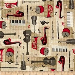 All That Jazz Instruments Parchment