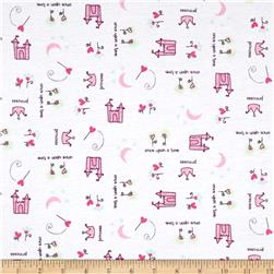 Cotton Blend Jersey Knits Princess Pink