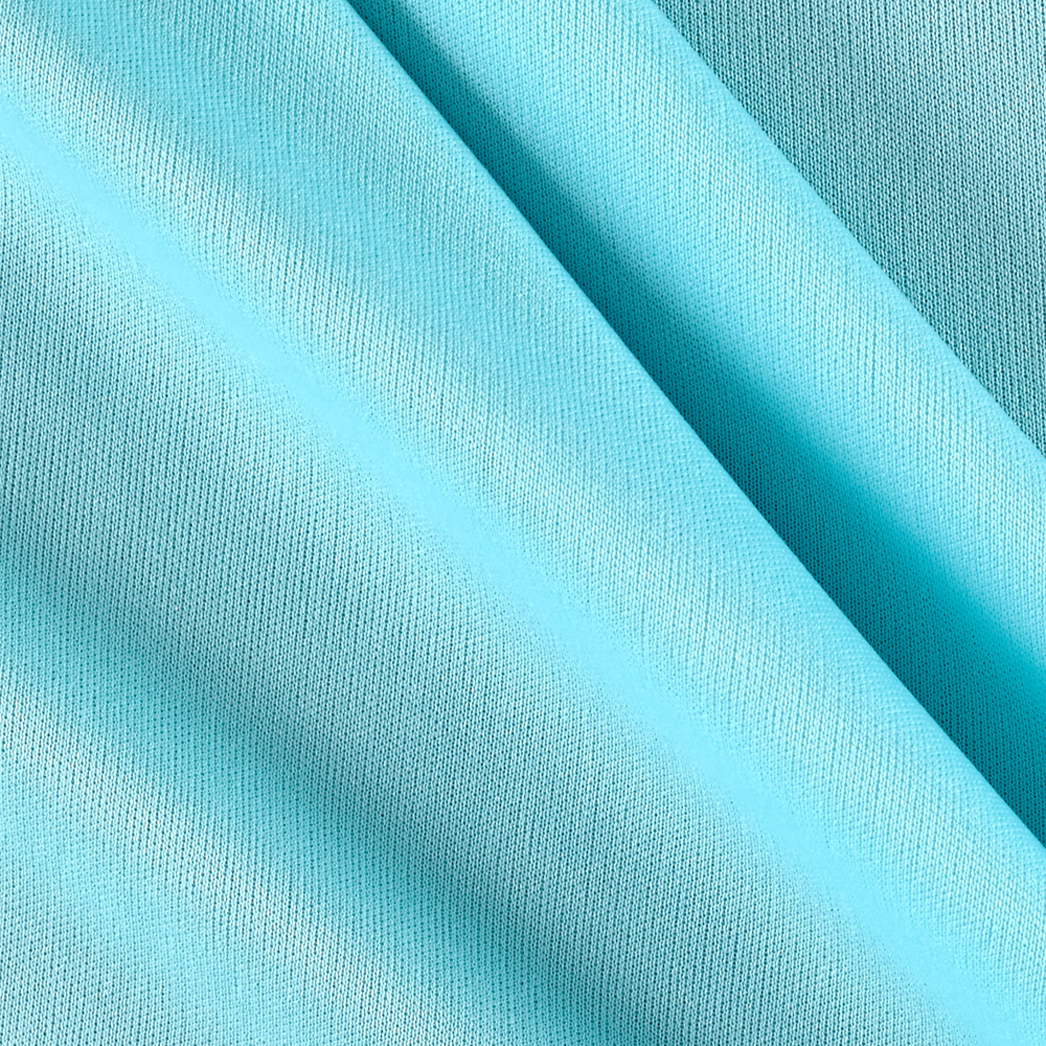 70 Denier Tricot Turquoise Fabric by Mike Cannety in USA