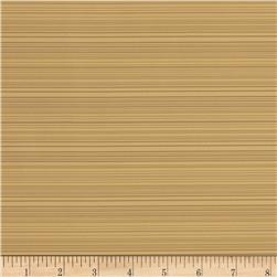 "Starlight 118"" Thin Striped Sheer Wheat"