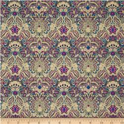Marrakesh Metallic Floral Multi