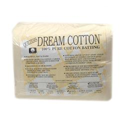 "Quilter's Dream Natural Cotton Supreme Batting (108"" x 93"") Queen"