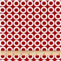Kaufman Spot On Lifesaver Dots Red