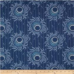 Downton Abbey II Flower Strings Blue