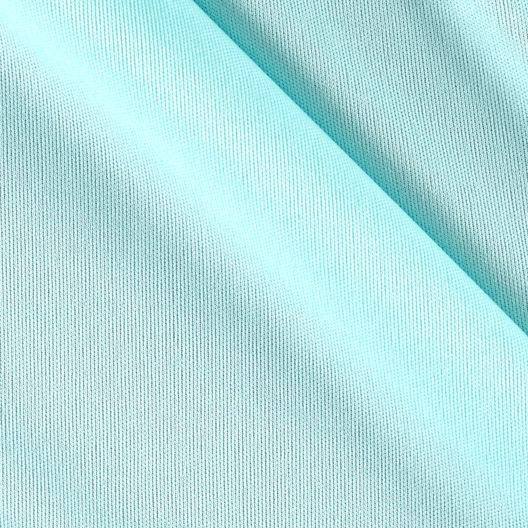 70 Denier Tricot Light Turquoise Fabric by Mike Cannety in USA