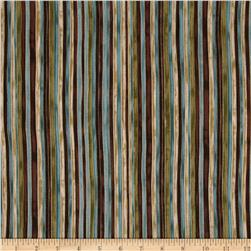 Marrakech Metallic Stripe Multi