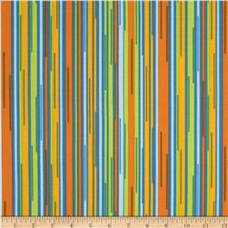 Moda Barcelona Stripes Saffron/Multi
