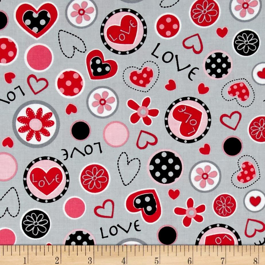So Sweet Love Collage Grey