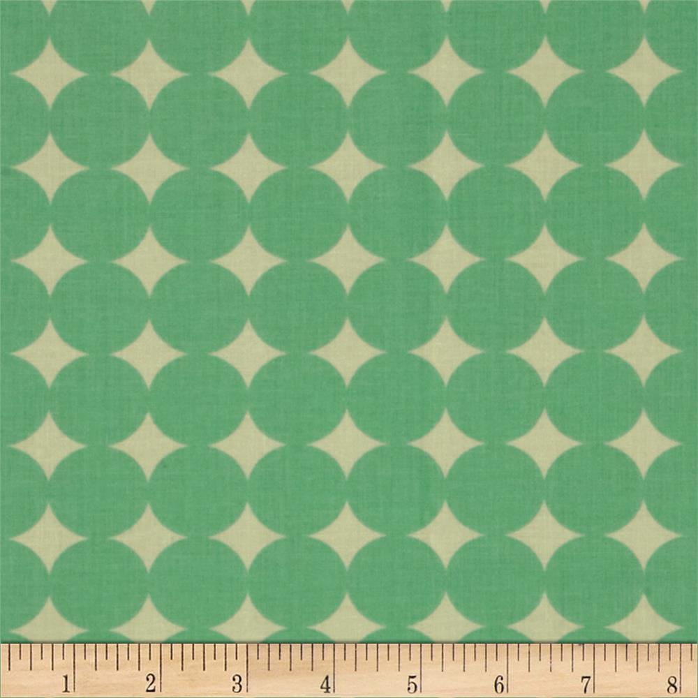 Heather Bailey True Colors Mod Dot Aqua