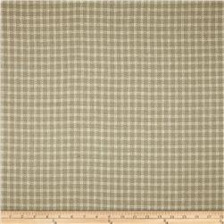 Covington Homespun Plaid Bamboo Blend Linen Fabric