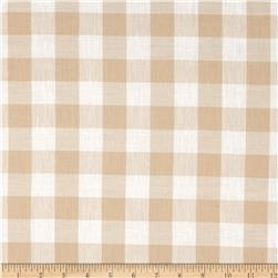 Gingham 1'' Checks Galore Beige