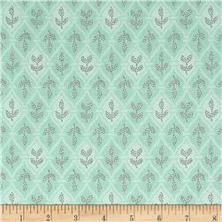 Village Garden Geometric Teal